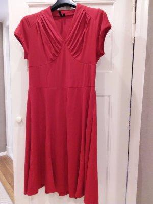 MIUSOL Kleid rot, Grösse XXL - Retro-Style - fällt aus wie Gr. 44