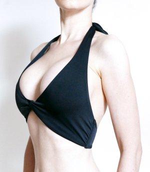MIX&MATCH Asos Neckholder Bikini Top black – 70D