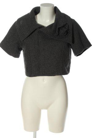 mix nouveau Chaqueta de lana gris claro moteado look casual