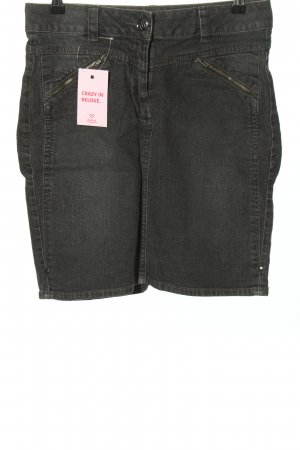 MIX YOUR STYLE Jeansrock hellgrau Casual-Look