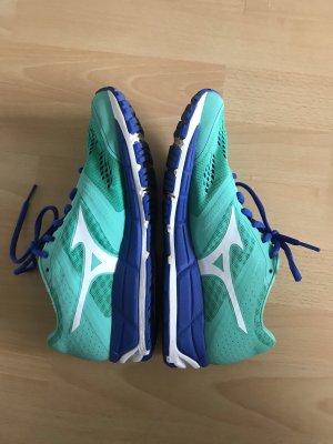 Mizuno Turnschuhe Hallenschuhe Laufschuhe 38 blau/grün