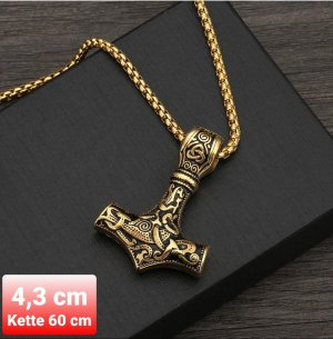 SmD Pendant gold-colored