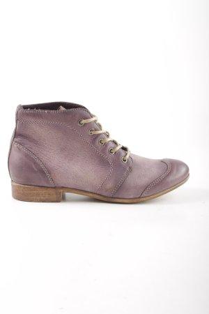 Mjus Ankle Boots lila Farbverlauf Business-Look