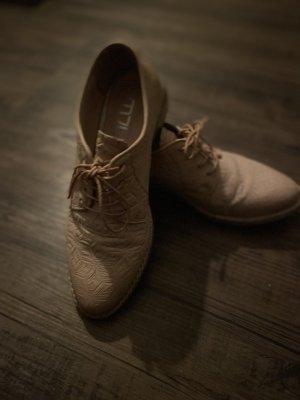 Mjus Zapatos brogue rosa