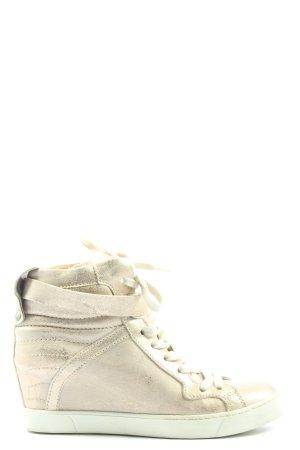 Mjus High Top Sneaker wollweiß Casual-Look