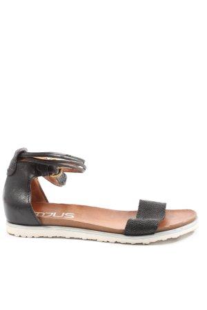 Mjus Sandalo comodo nero stile casual