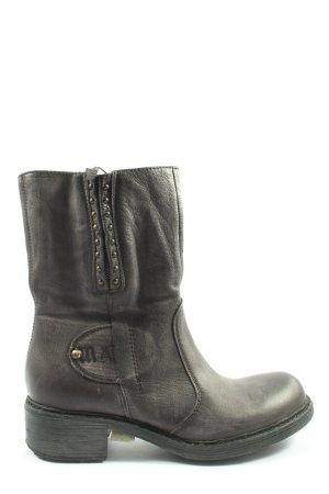 Mjus Krótkie buty jasnoszary Elegancki