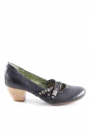 Mjus Mary Jane Pumps schwarz Casual-Look