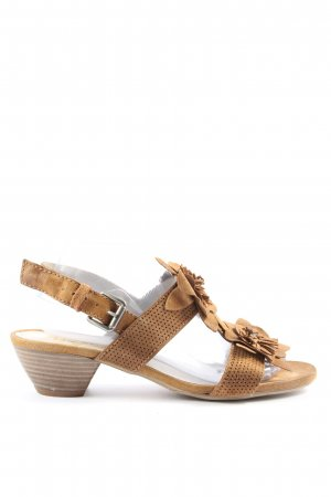 Mjus Strapped High-Heeled Sandals brown casual look