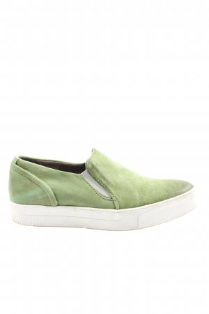 Mjus Schlüpfschuhe grün Casual-Look
