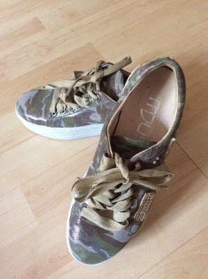Mjus Turnschuh Sneaker Plateau Gr 37 neu