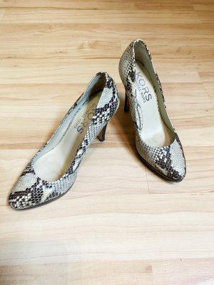 MK Damen Schuhe Michael Kors Gr 37 High Heels, Schlangenleder