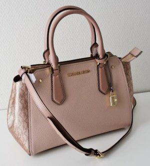 Michael Kors Satchel dusky pink leather