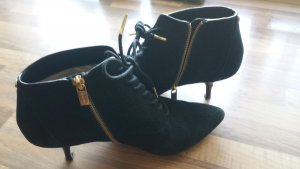 Michael Kors Ankle Boots black-gold-colored