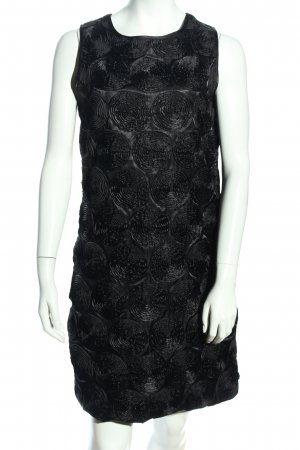 MKone Cocktail Dress black allover print elegant