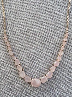 ml Collier zilver-roze