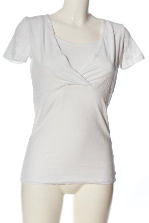ml Camicia stile impero bianco stile casual
