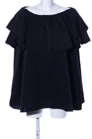 MLM Long-Bluse schwarz Elegant