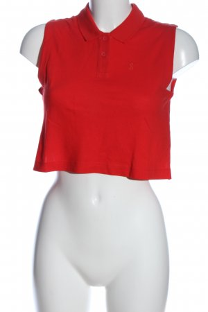 Mm6 By Maison Margiela Cropped Top