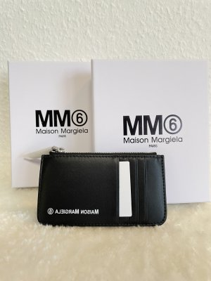 MM6 Maison Margiela Black Card Holder