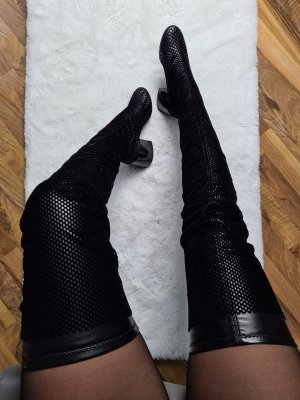 Mm6 By Maison Margiela Overknees black