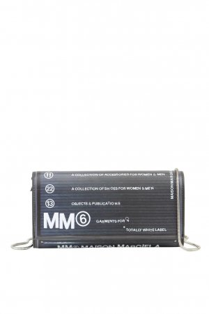 Mm6 Maison Margiela Umhängetasche in Multicolor aus Leder