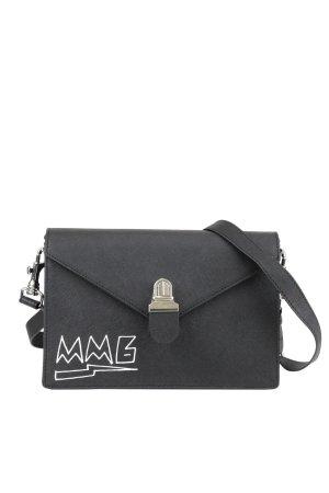 Mm6 Maison Margiela Umhängetasche in Schwarz aus Leder