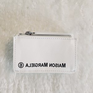 MM6 Maison Margiela White Small Wallet