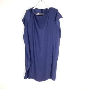 Mm6 By Maison Margiela Robe découpée bleu acier polyester