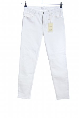MNG 7/8 Length Jeans white casual look