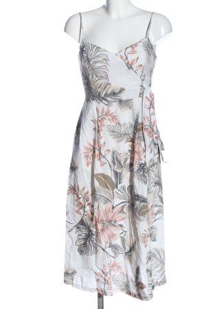 MNG A-Linien Kleid Blumenmuster Casual-Look