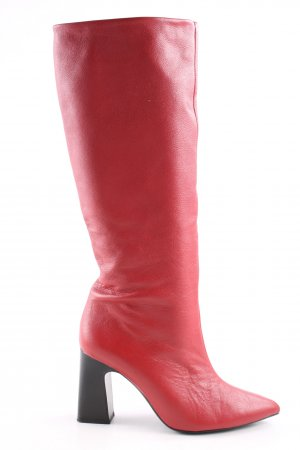 MNG Absatz Stiefel rot Business-Look
