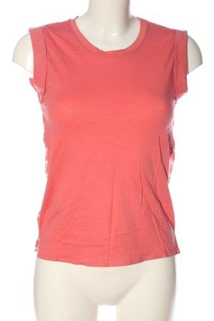 MNG ärmellose Bluse pink-creme Streifenmuster Casual-Look