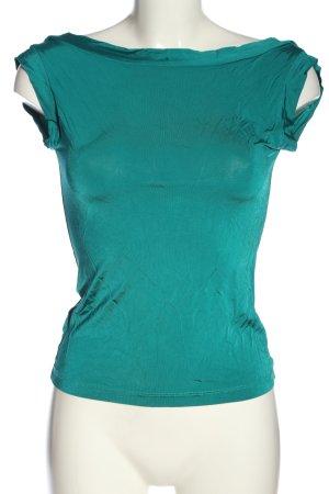 MNG ärmellose Bluse blau Casual-Look