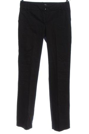 MNG Spodnie garniturowe czarny W stylu casual