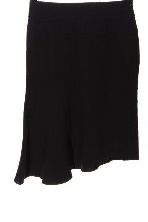 MNG Falda asimétrica negro estilo «business»