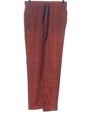 MNG Baggy Pants rot-schwarz Casual-Look