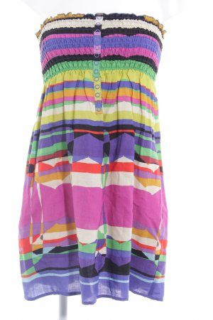 MNG Bandeaukleid Mustermix Casual-Look