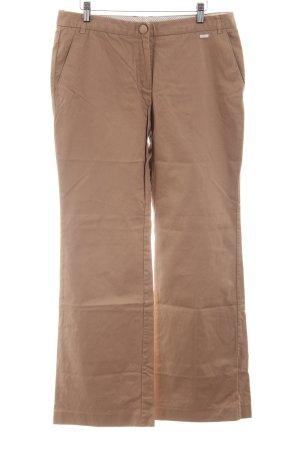 MNG Basics Pantalon chinos brun style d'affaires