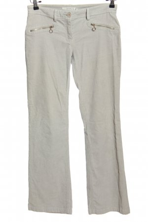 MNG Basics Corduroy Trousers light grey casual look