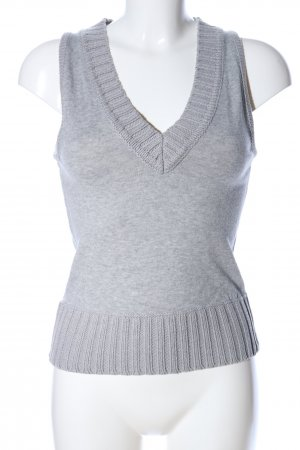 MNG Basics Fine Knitted Cardigan light grey flecked casual look