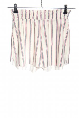 MNG Basics High-Waist-Shorts Allover-Druck Casual-Look