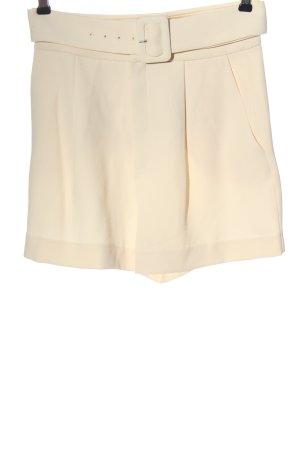 MNG Basics High-Waist-Shorts cream casual look