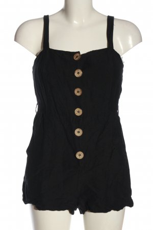 MNG Basics Kurzer Jumpsuit schwarz Elegant