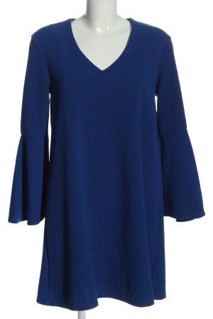 MNG Basics Langarmkleid blau Casual-Look