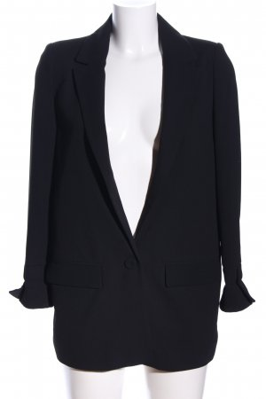 MNG Basics Long-Blazer schwarz Business-Look