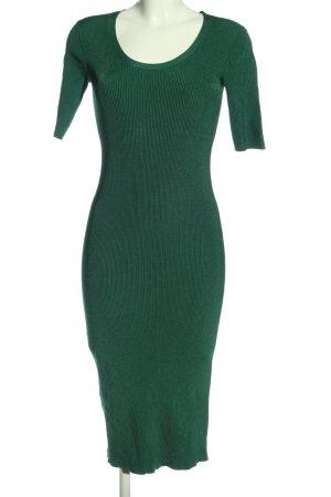 MNG Basics Pulloverkleid grün Casual-Look