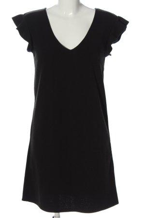 MNG Basics Minikleid schwarz Casual-Look