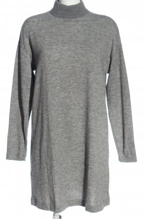MNG Basics Sweater Dress light grey flecked casual look