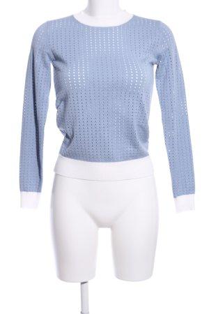 MNG Basics Rundhalspullover blau Casual-Look